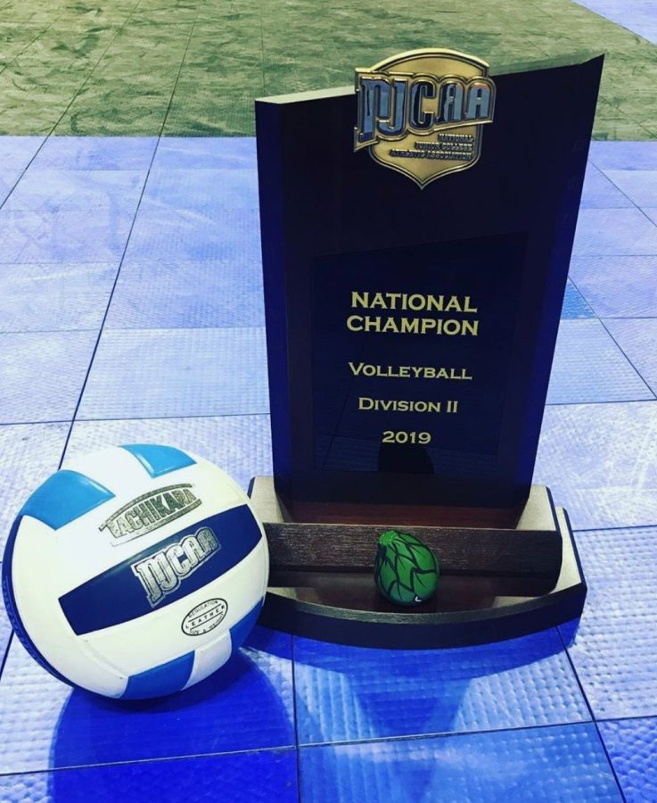 NJCAA+Division+II+Volleyball+National+Championship+trophy
