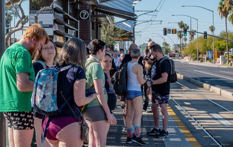 12th Annual 'Phoenix No Pants Light Rail Ride' 2020 #NoPantsPhx