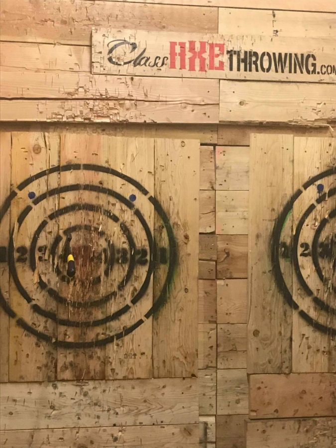 Axe Throwing Tempe