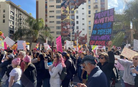 Fourth Annual Women's March In Los Angeles