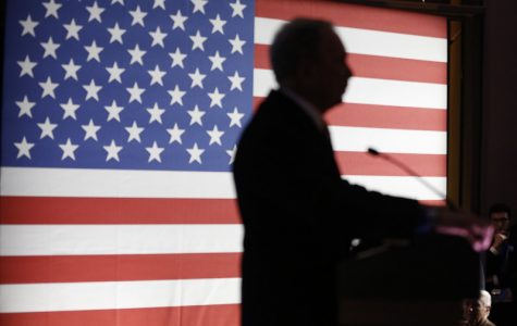 Former New York City Mayor Mike Bloomberg's first debate in Nevada: bombarded with criticism from fellow candidates—caucus looms large for each.