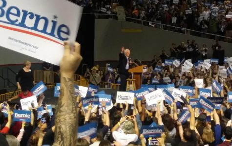 Democratic candidate, Bernie Sanders, holds rally in Phoenix