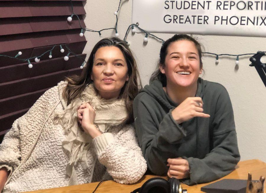Life coach Kamilla Benforte and Podcast Host Ivana Venema-Nunez