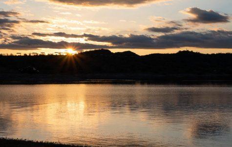 Sunset at Lake Pleasant