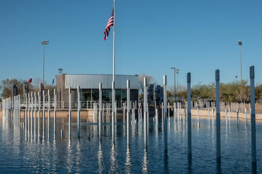 USS Arizona Memorial Garden opens at Salt River Fields at Talking Stick