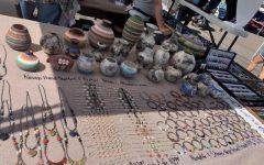 Some of the jewelry available for purchase at the Native Arts Market
