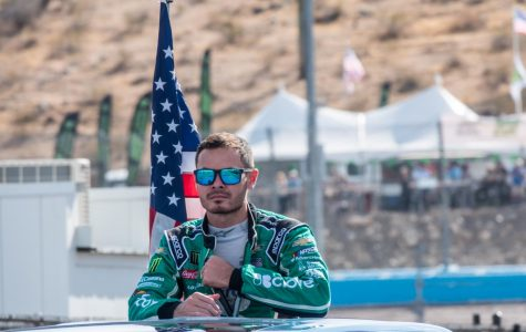 Kyle Larson at Phoenix Raceway on Nov. 10, 2019