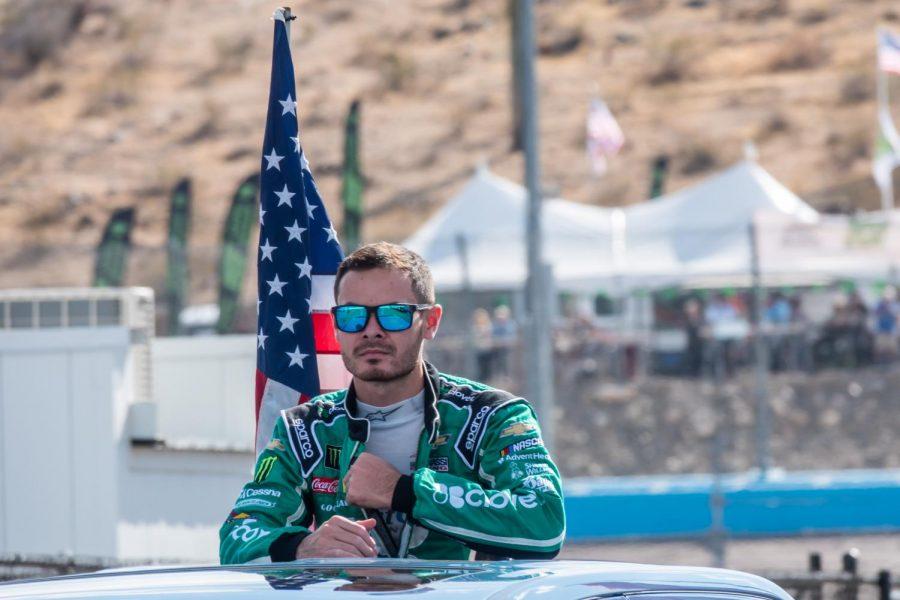 Kyle Larson at Phoenix Raceway on Nov. 10, 2019