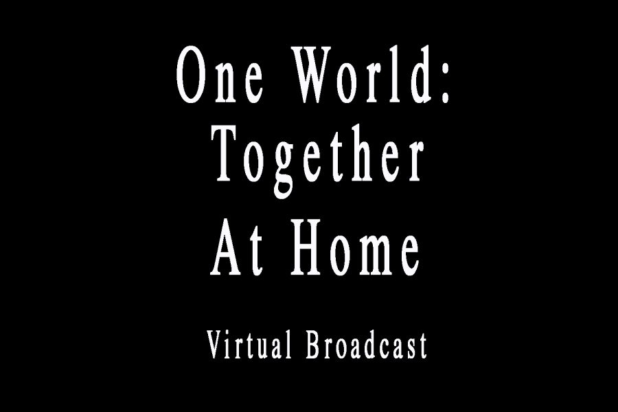 One World: Together At Home Virtual Broadcast