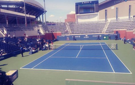 The U.S. Open Tennis center near New York City, pictured here last summer, has become a field hospital during the battle against COVID-19