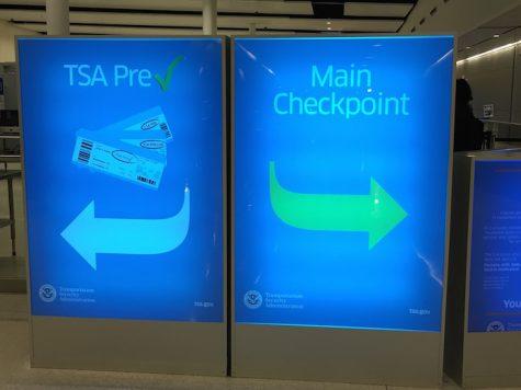 TSA PreCheck Signs in Indianapolis