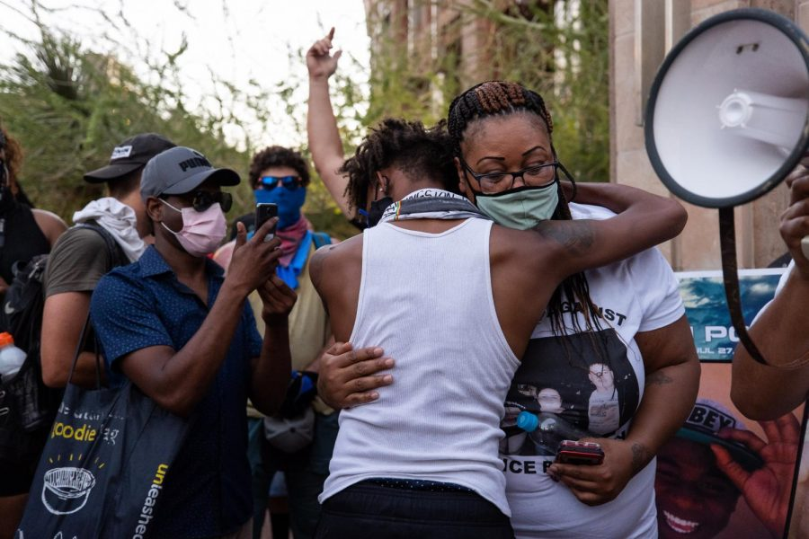 Photos taken at the Protest in Phoenix, Az.May 28 2020
