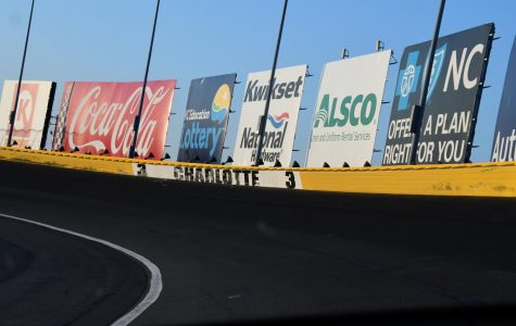 NASCAR will race from Charlotte Motor Speedway this week