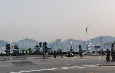 Hong Kong protests continue.