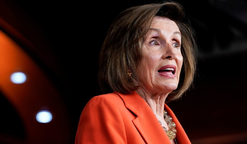 Nancy Pelosi D-California.