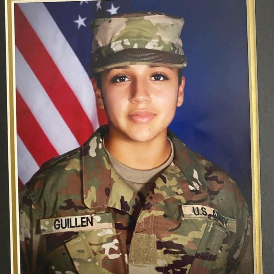 Vanessa Guillen military photo, credited to facebook page Find Vanessa Guillen