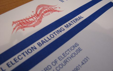 County Recorder is in charge of mail-in ballots