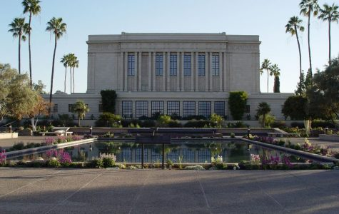 The LDS Temple is considered the centerpiece of Mesa's Downtown