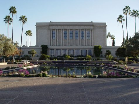 The LDS Temple is considered the centerpiece of Mesa