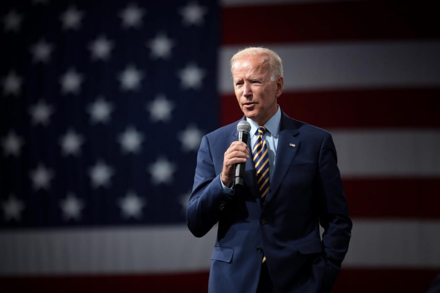 Former Vice President Joe Biden was officially named the 2020 Democratic nominee.  Shown here at a pre-pandemic forum.