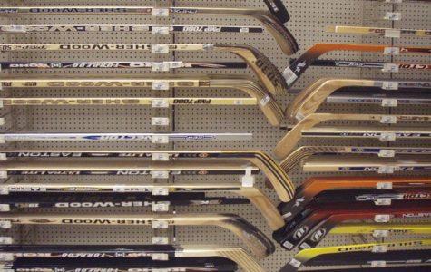 Hockey Stick Wall