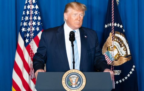 President Donald J. Trump delivers remarks during a press conference Friday, Jan. 3, 2020, at Mar-a-Lago in Palm Beach, Fla.
