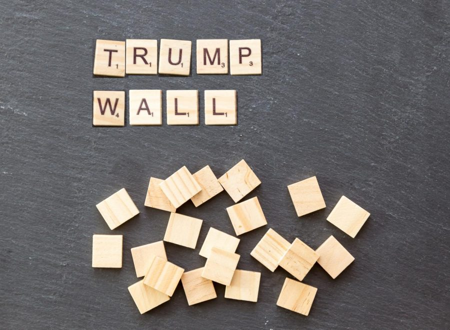 The+construction+of+a+southern+border+wall+was+a+prominent+campaign+issue+for+Donald+Trump+during+the+2016+election