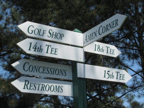 The signs are the same but the sights will be different at this years rescheduled Masters golf tournament