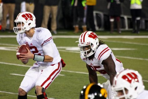 The Wisconsin Badgers are currently ineligible for the Big Ten Championship game Dec. 19