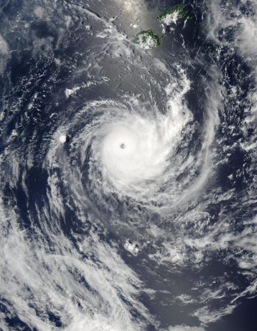 An extreme cyclone is generating 110 mph winds and 50 foot waves moving into the Bering Sea