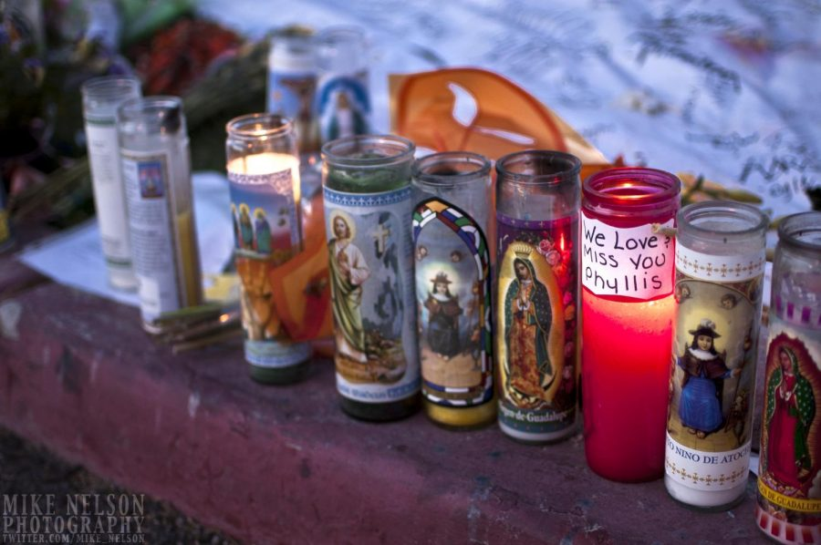 A Tucson shooting memorial