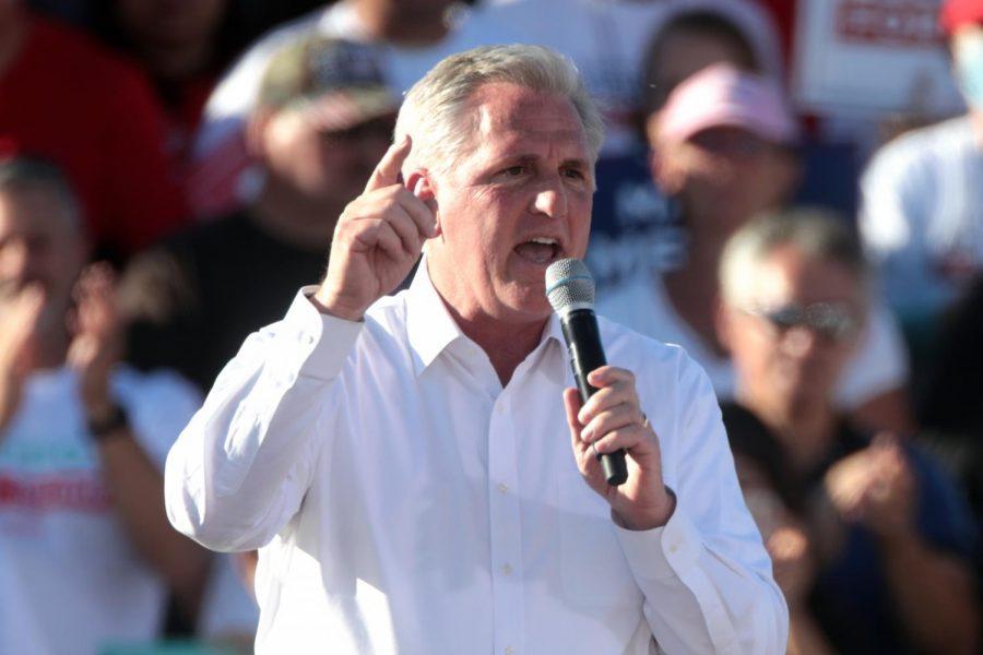 Minority leader Kevin McCarthy