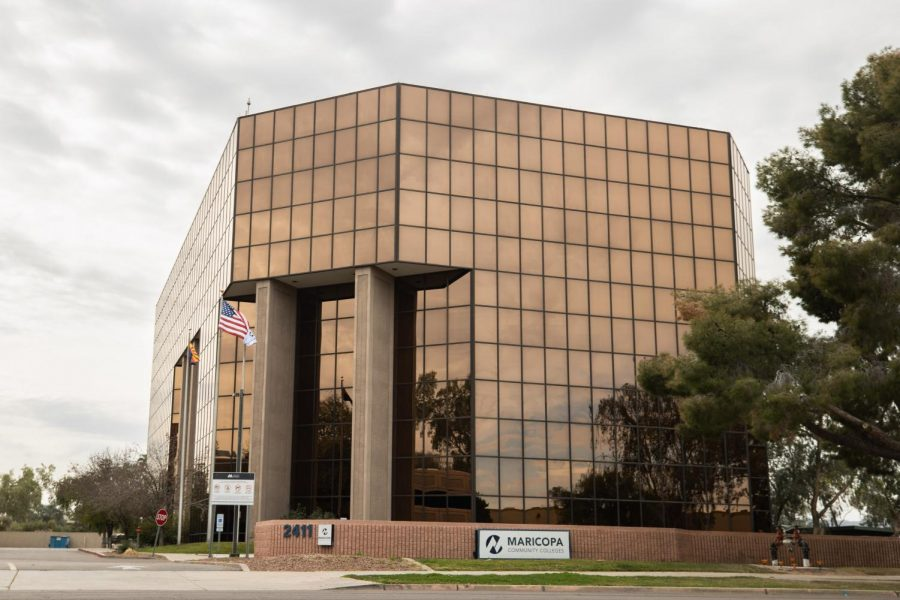 Maricopa+County+Community+College+District+office+building