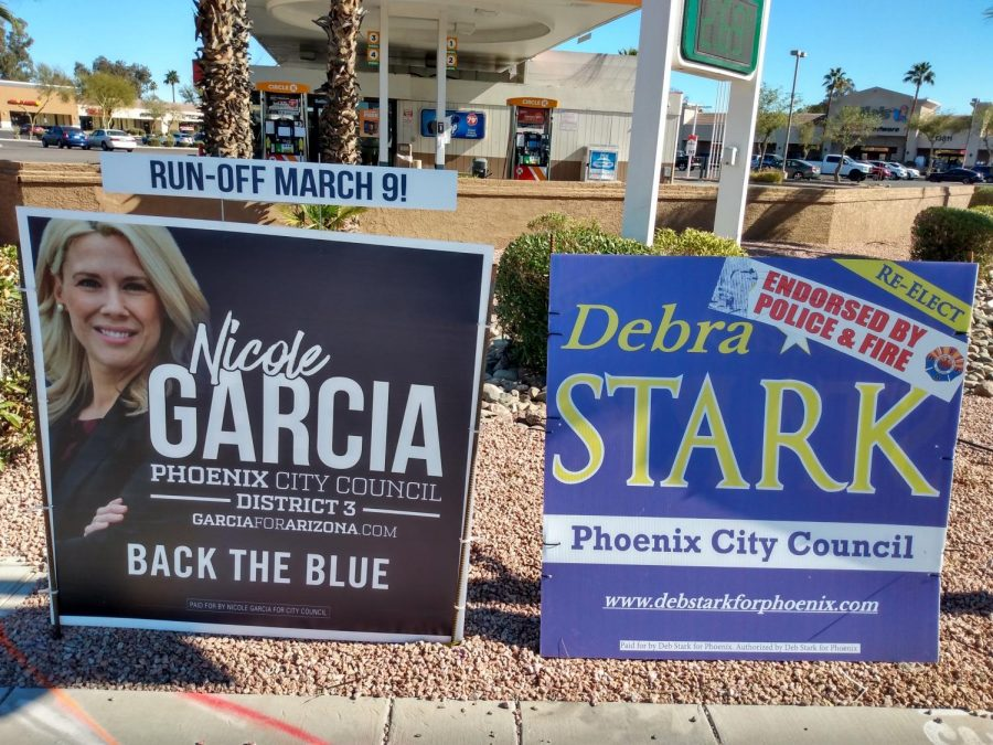 March 9 runoff election to decide two Phoenix City Council seats