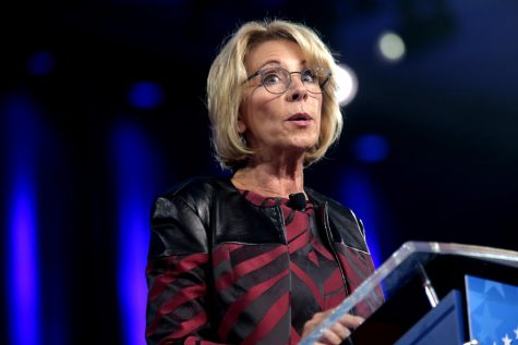 Former Secretary of Education Betsy DeVos