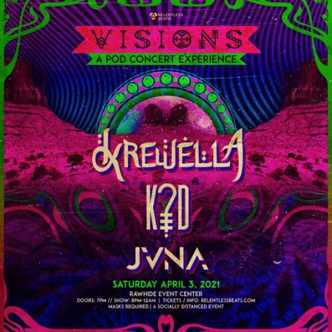 Relentless Beats presents Visions at Rawhide