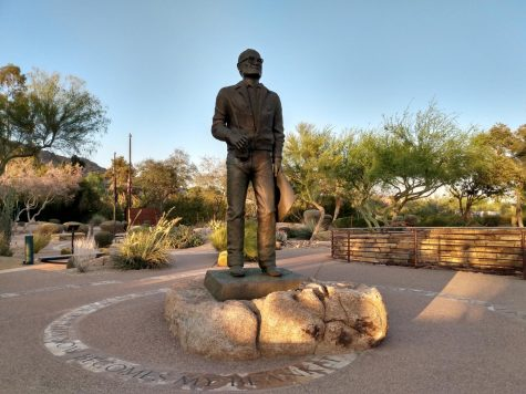 Barry Goldwater was an Arizona Senator and iconic figure in Arizona history