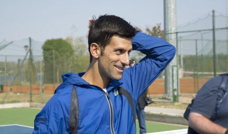 Serbia's Novak Djokovic won the third leg of the tennis grand slam with his singles title at Wimbledon on Sunday