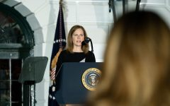 Amy Coney Barrett was the Supreme Court justice who dismissed the students claim.