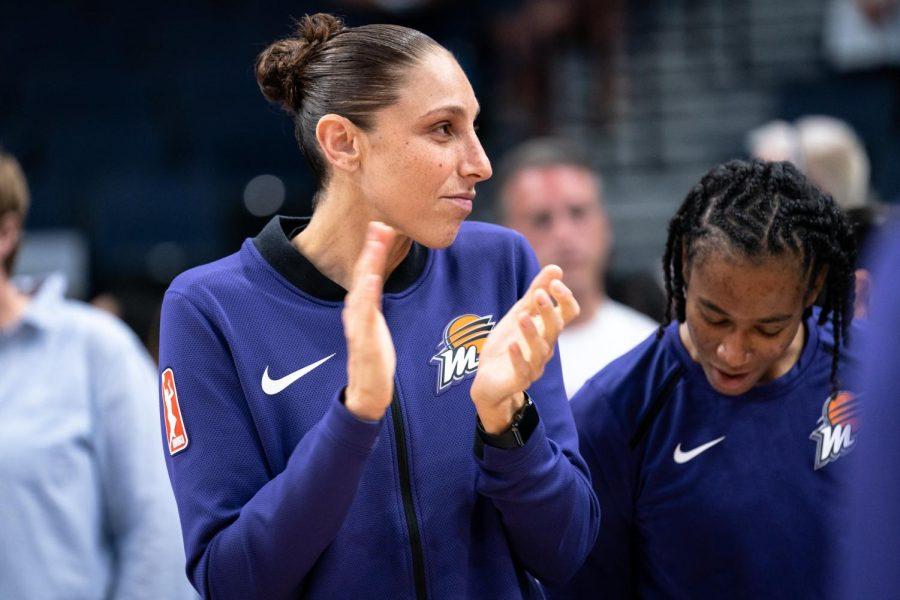 Phoenix Mercury star forward Diana Taurasi is averaging 15 points per game in her 17th season.
