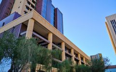 The Maricopa County Superior Courthouse in Phoenix.