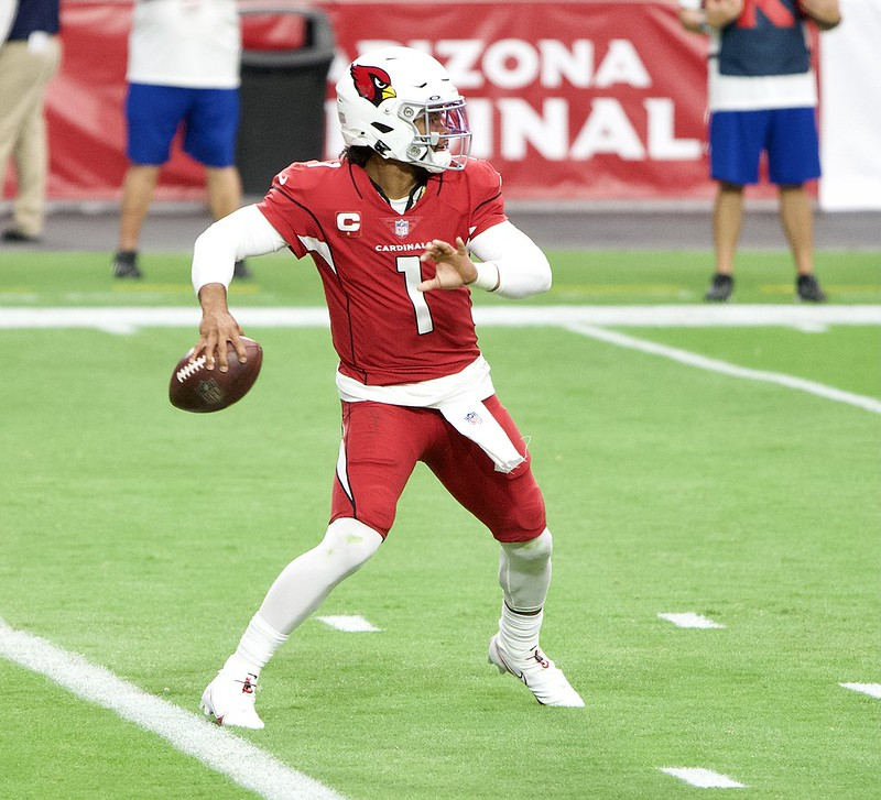 Kyler Murray completed 28 passes for 316 yards and ran for a touchdown in Sundays win at Jacksonville.