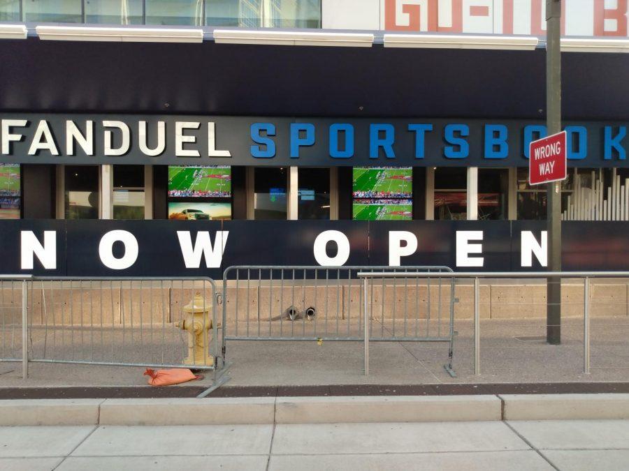 The FanDuel Sportsbook at the Footprint Center in Phoenix.