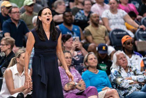 Head coach Sandy Brondello oversaw a rampant win for her Phoenix Mercury on Thursday.