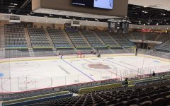 The Tucson Convention Center is home to the Tucson Roadrunners, whose season began with a split series in Stockton.